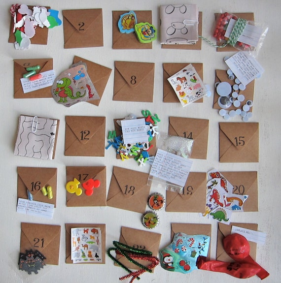 24 days till Xmas - Fun Pack Advent Calendar