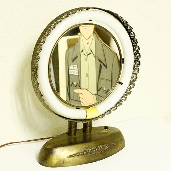Vintage Vanity Mirror Light Vanity Mirror Makeup Mirror