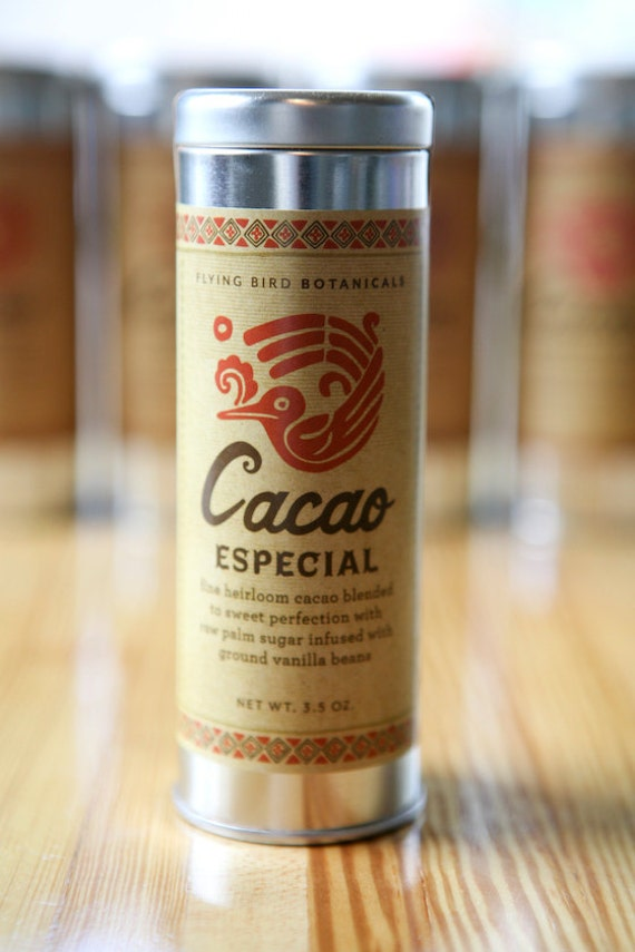 0497 Cacao Especial 3.5oz...hot drinking chocolate made with 100% organic, fair trade ingredients