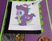 Dragon BEWARE halloween card