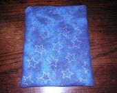 Stars glitter handmade zipper fabric iPad 2 3 4 Air Retina Xoom Galaxy case sleeve cover pouch tablet