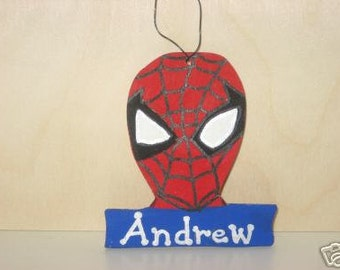 Spiderman Christmas Ornament - Personalized