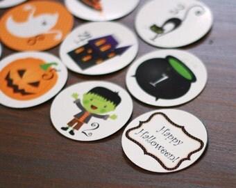 Halloween Countdown Magnet Set