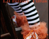 Halloween Ruffle leggings Tutu Leg Warmers - Perfect for Costume, Photo Prop, Dress up, Sz 6M & Up - Halloween Ruffle Tutu Leg Warmers
