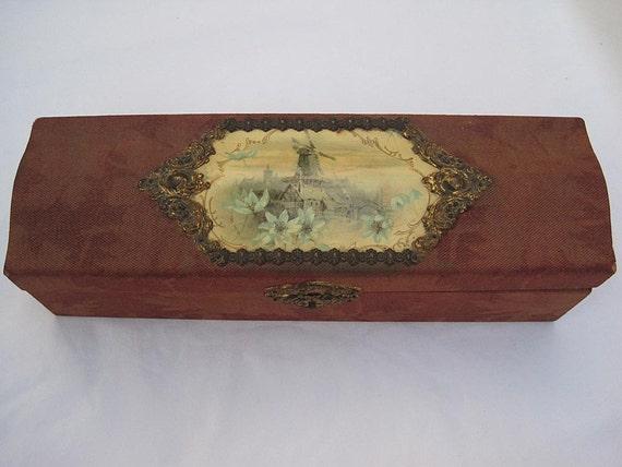 Vintage Glove Box - Victorian