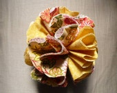 Sample, Flower Pin, Flower Brooch Sample - Small 2 inch flower