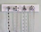 4 Knob Necklace rack / Jewelry Holder
