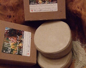FRENCH / AUSTRALIAN GREEN Clays Facial Bar with Goats Milk