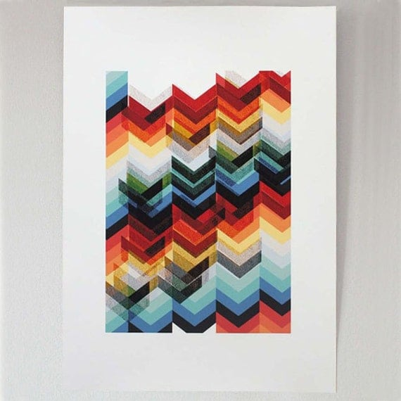 Chevron Multicolour