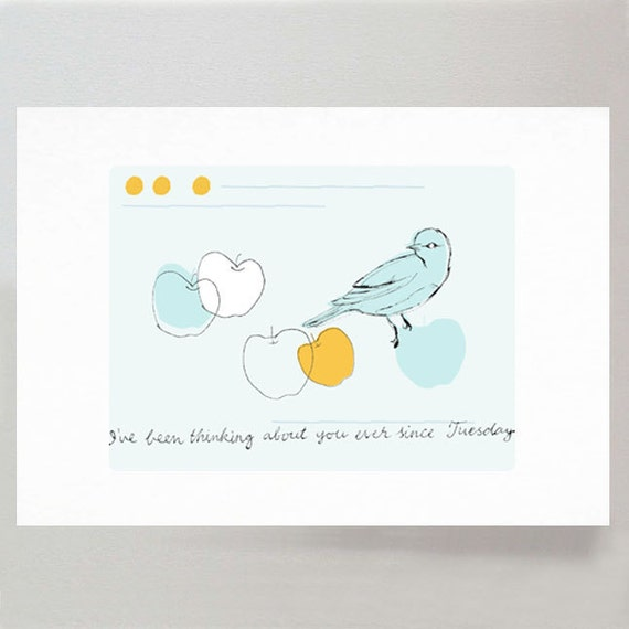 Ever since Tuesday - limited edition print