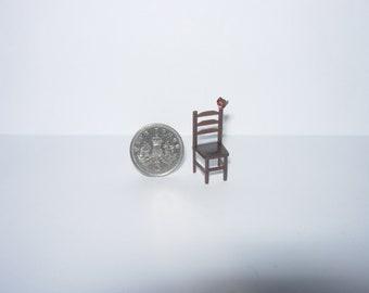 1/4 quarter scale dolls house miniature red robin bird