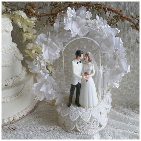 wedding cake toppers vintage wilton wedding cake topper 8812