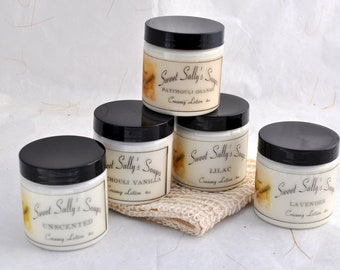 Creamy Lotions 4oz, Set of 3, Gift Set