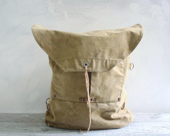 Vintage Boy Scouts Backpack Knapsack