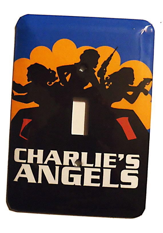 Charlie's Angels Switchplate