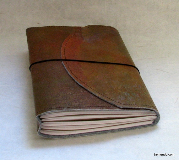 hot mess extreme texture larger tri fold journal