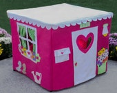 Kids Play Tent Card Table Playhouse, Teepee, Double Delight, Personalized, Custom Order