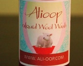 Organic All Natural Wool Wash - 8oz - Oatmeal milk and honey scent
