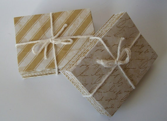 50 assorted gold envelopes - size 1- small envelopes - wedding guest book - business card envelope - gift card envelope - thank you envelope