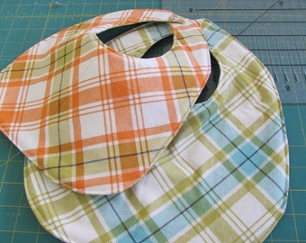 Bib Pattern - Two Sizes - PDF - Paper Pattern Pieces and Picture Tutorial