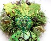 The Greenman Art Doll by Tina Lynn Ellis