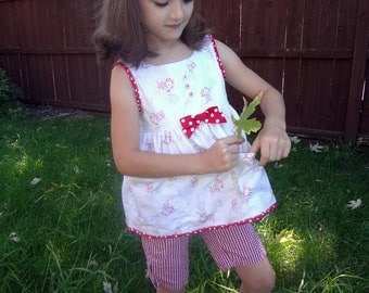 Lil' Margie Playtime Smock TOP ONLY