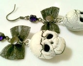 jingle skulls - earrings
