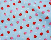 Strawberry  flower print nc33
