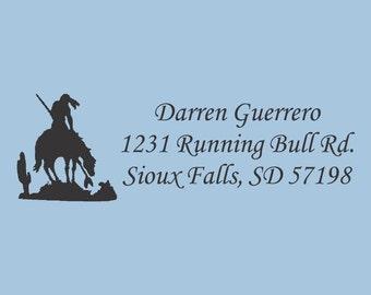 Custom Self Inking Stamp Darren Guerrero Design 200-020
