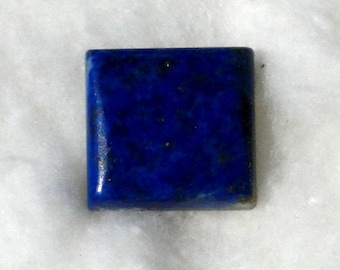 4 Lapis Lazuli cabochons, square and rectangle shapes,  83.50 carats total       044-12-010,013