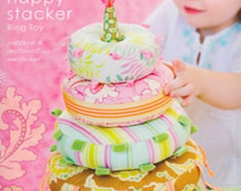 HAPPY STACKER Ring Toy by Heather Bailey