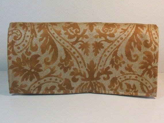 Fabric Coupon Holder Purse Organizer Upholstery Fabric Brushed Cotton