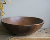 Birch Wood Bowl by Adirondack Bowls