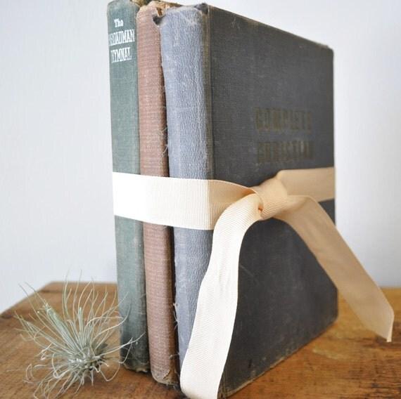 DESTASH of Vintage Music Hymnal Books--journal, scrapbooking, collage supplies--Presbyterian, Baptist, Methodist church hymn books
