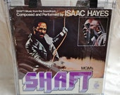 Isaac Hayes Shaft Soundtrack Retro Vinyl Record Album Tote