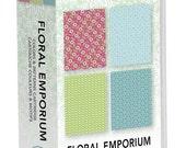 Cricut Imagine Floral Emporium colors and patterns cartridge