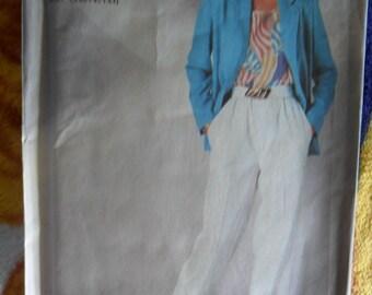 Vintage Super Saver SImplicity Pattern 7570 - Ladies Pants and Jacket - never used - sizes 14 thru 16