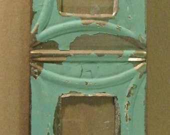 AUTHENTIC Tin Ceiling Quad Four Picture Frame RECLAIMED Photo S690-12