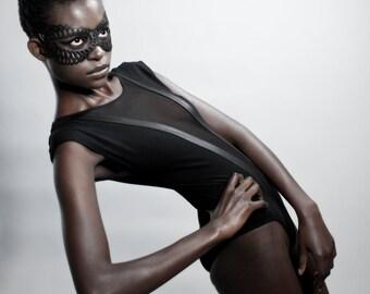Dusk - Recycled Bicycle Inner Tube Mask