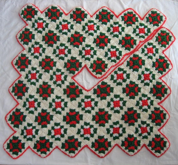 Square Tree Skirt 121