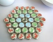 Brooklyn - bottle cap trivet