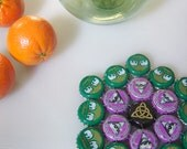 Elephant Eye - bottle cap trivet