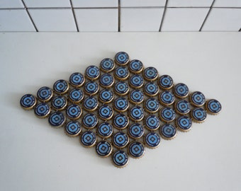 Blue Diamond - bottle cap trivet