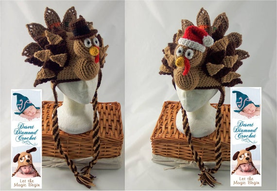 Holidurkey Turkey Hat - Any Size - Any Color