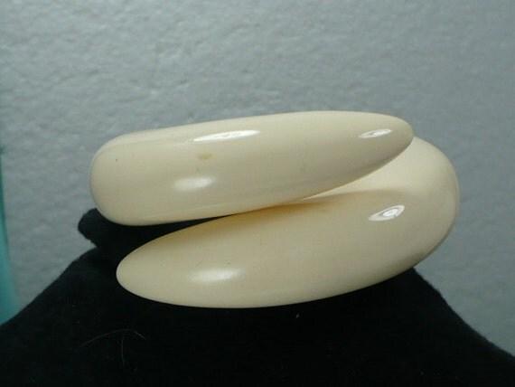 Carolee Faux Ivory Wraparound Bracelet