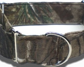 """1.5"""" """"The Woodsman,"""" Realtree Camo,  Martingale Collar in Your Size Choice"""