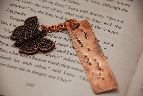 Book & Wine Bookmark