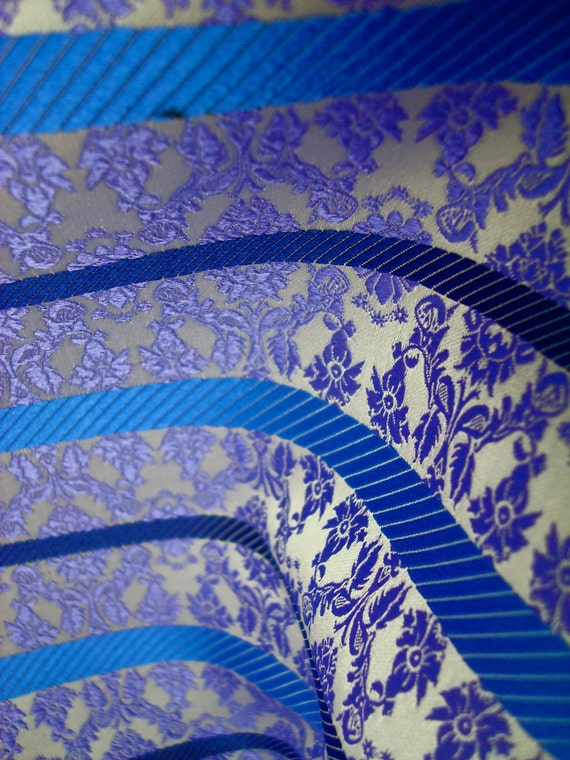 Tie Silk - Pure Silk Fabric Woven in England