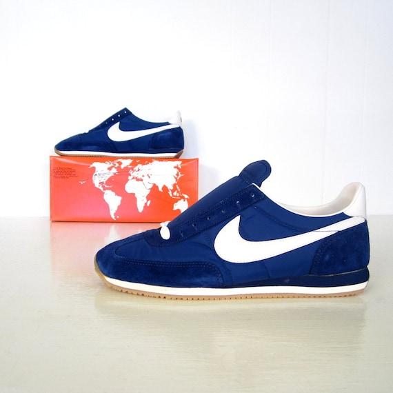 Nike Running Shoes / 1982 Nike Oceania / 80s Nikes / Deadstock / Mint in Box / 13.5