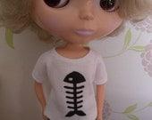 Blythe fishbone t- shirt